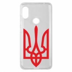 Чехол для Xiaomi Redmi Note 6 Pro Класичний герб України - FatLine