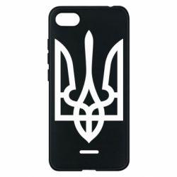 Чехол для Xiaomi Redmi 6A Класичний герб України - FatLine