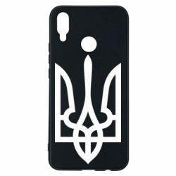 Чехол для Huawei P Smart Plus Класичний герб України - FatLine