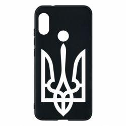 Чехол для Mi A2 Lite Класичний герб України - FatLine