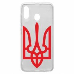 Чехол для Samsung A20 Класичний герб України