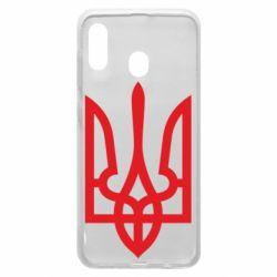 Чехол для Samsung A30 Класичний герб України
