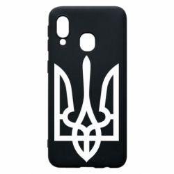 Чохол для Samsung A40 Класичний герб України