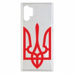 Чехол для Samsung Note 10 Plus Класичний герб України