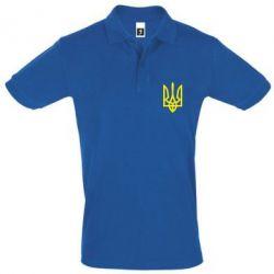 Мужская футболка поло Класичний герб України