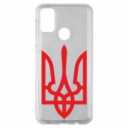 Чехол для Samsung M30s Класичний герб України