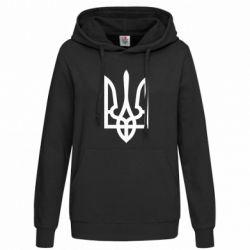 Женская толстовка Класичний герб України