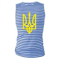 Майка-тельняшка Класичний герб України - FatLine