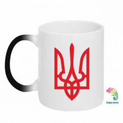 Кружка-хамелеон Класичний герб України