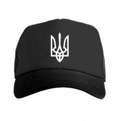Кепка-тракер Класичний герб України - FatLine