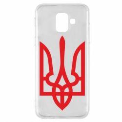 Чехол для Samsung A6 2018 Класичний герб України
