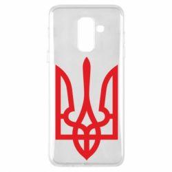 Чехол для Samsung A6+ 2018 Класичний герб України