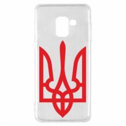 Чохол для Samsung A8 2018 Класичний герб України
