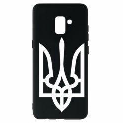 Чехол для Samsung A8+ 2018 Класичний герб України