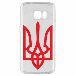 Чохол для Samsung S7 Класичний герб України