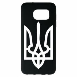 Чехол для Samsung S7 EDGE Класичний герб України