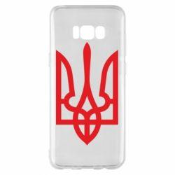 Чохол для Samsung S8+ Класичний герб України