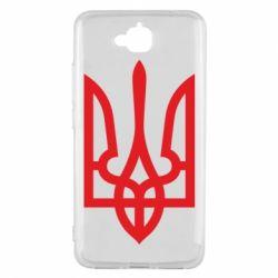 Чехол для Huawei Y6 Pro Класичний герб України - FatLine