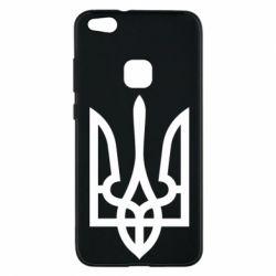 Чехол для Huawei P10 Lite Класичний герб України - FatLine