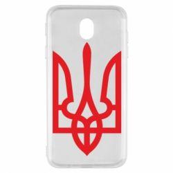Чехол для Samsung J7 2017 Класичний герб України