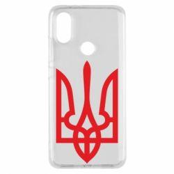 Чехол для Xiaomi Mi A2 Класичний герб України - FatLine