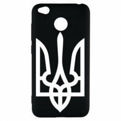 Чехол для Xiaomi Redmi 4x Класичний герб України - FatLine