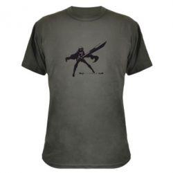 Камуфляжная футболка Клеймор