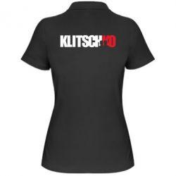Женская футболка поло Klitschko - FatLine