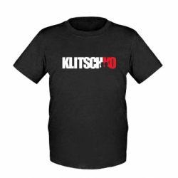 Детская футболка Klitschko - FatLine