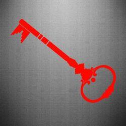 Наклейка Ключ к сердцу - FatLine
