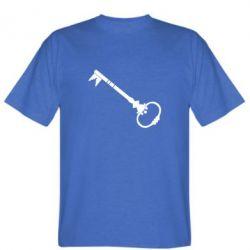 Мужская футболка Ключ к сердцу - FatLine