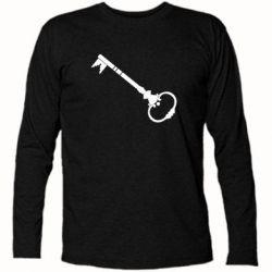 Футболка с длинным рукавом Ключ к сердцу - FatLine