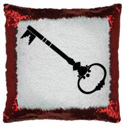 Подушка-хамелеон Ключ к сердцу