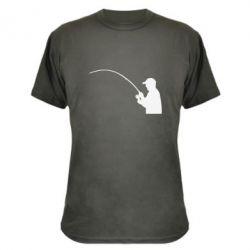 Камуфляжная футболка Клюёт! - FatLine