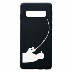 Чехол для Samsung S10 Клюёт! - FatLine