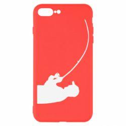 Чехол для iPhone 8 Plus Клюёт!