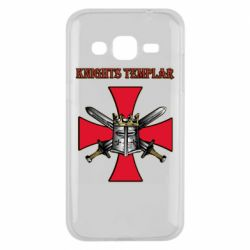 Чохол для Samsung J2 2015 Knights templar helmet and swords