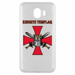 Чохол для Samsung J4 Knights templar helmet and swords