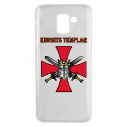 Чохол для Samsung J6 Knights templar helmet and swords