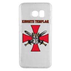 Чохол для Samsung S6 EDGE Knights templar helmet and swords