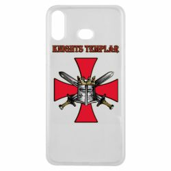 Чохол для Samsung A6s Knights templar helmet and swords