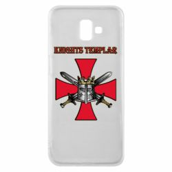 Чохол для Samsung J6 Plus 2018 Knights templar helmet and swords