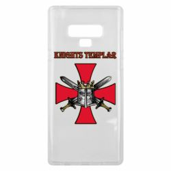 Чохол для Samsung Note 9 Knights templar helmet and swords