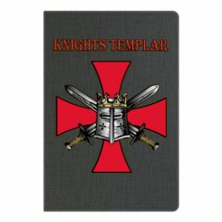 Блокнот А5 Knights templar helmet and swords