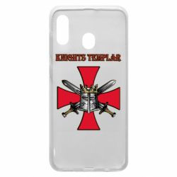 Чохол для Samsung A20 Knights templar helmet and swords