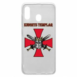 Чохол для Samsung A30 Knights templar helmet and swords