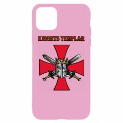 Чохол для iPhone 11 Knights templar helmet and swords