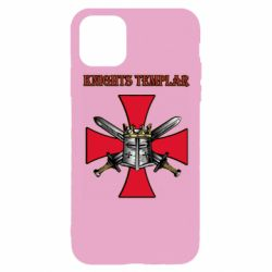 Чохол для iPhone 11 Pro Knights templar helmet and swords