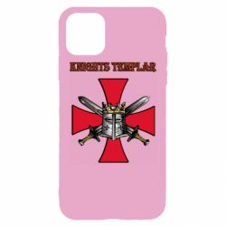 Чохол для iPhone 11 Pro Max Knights templar helmet and swords