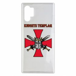 Чохол для Samsung Note 10 Plus Knights templar helmet and swords